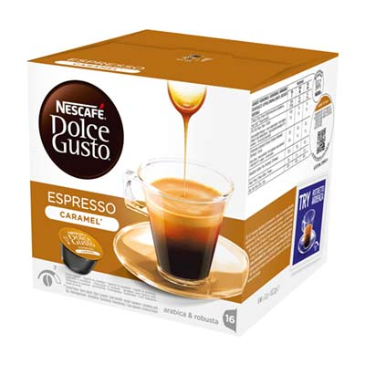 Nescafé Espresso Caramel Dolce Gusto