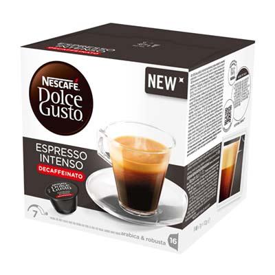 Nescafé Espresso Intenso Decaffeinato Dolce Gusto