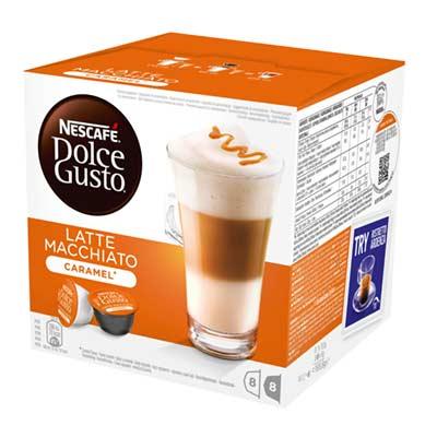 Nescafé Latte Macchiato Caramel Dolce Gusto