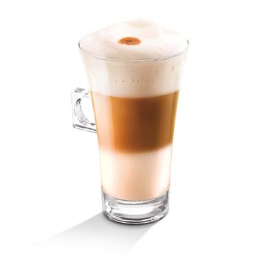 Nescafé Light Latte Macchiato Dolce Gusto Glas