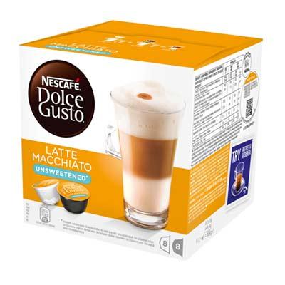 Nescafé Latte Macchiato Unsweetened Dolce Gusto