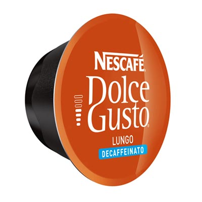 Nescafé Lungo Decaffeinato Dolce Gusto Kapsel