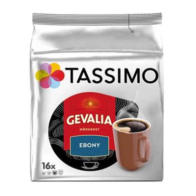 Tassimo Gevalia Ebony kaffe