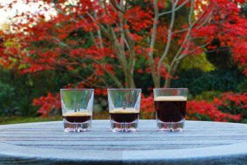 Ristretto, Espresso og lungo