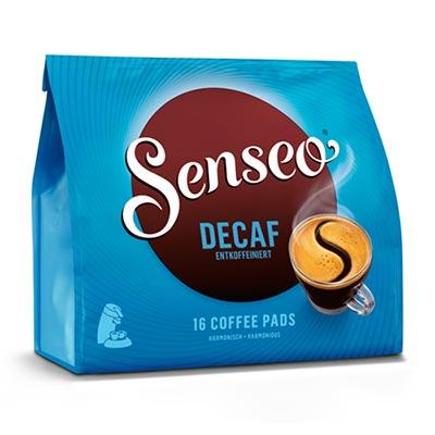 Senseo Decaf Koffeinfri kaffepude