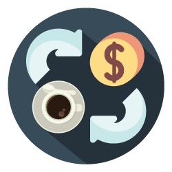 kaffeabonnement ikon